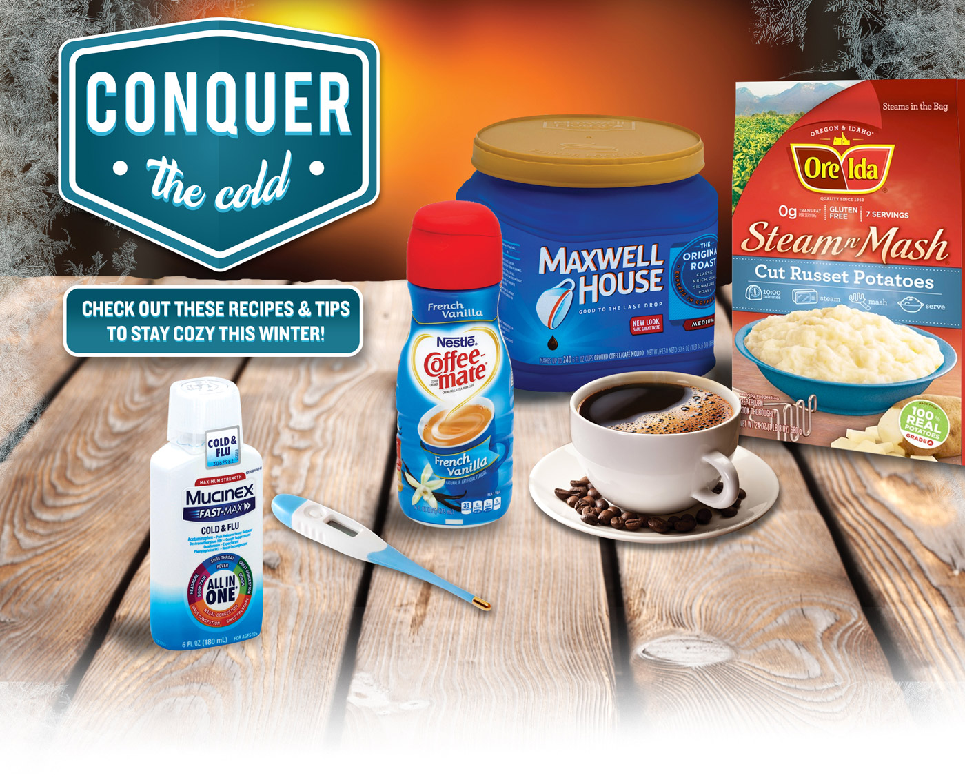 Conquer The Cold